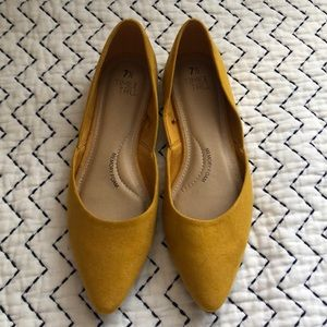 Shoes - Mustard colored flats